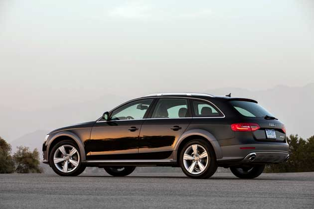 2013 Audi Allroad side