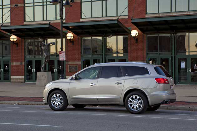 2013 Buick Enclave side