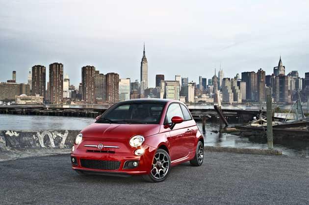 2013 Fiat 500 Turbo redfront