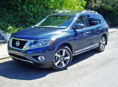small resolution of 2013 nissan pathfinder platinum 4 4 test drive