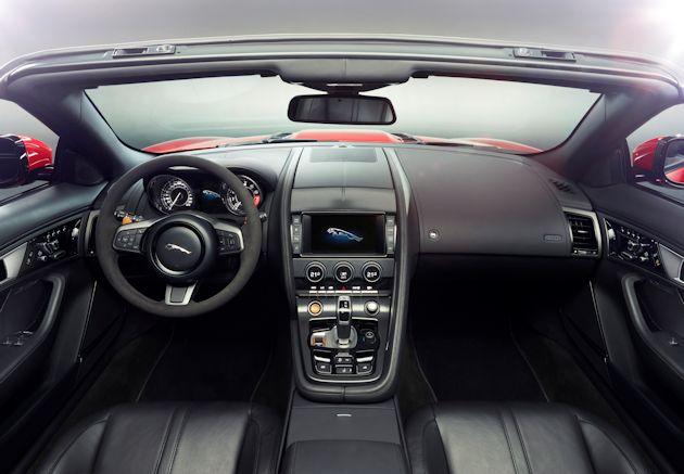2014 Jaguar F-Type dash