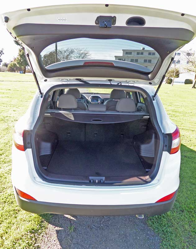 Hyundai Tucson Trunk : hyundai, tucson, trunk, Hyundai, Tucson, Limited, Drive, Expert