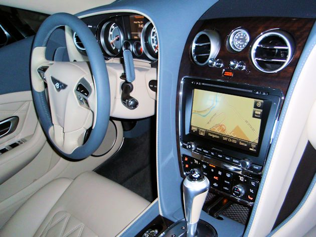 2014 Bentley Continental GTC dash2