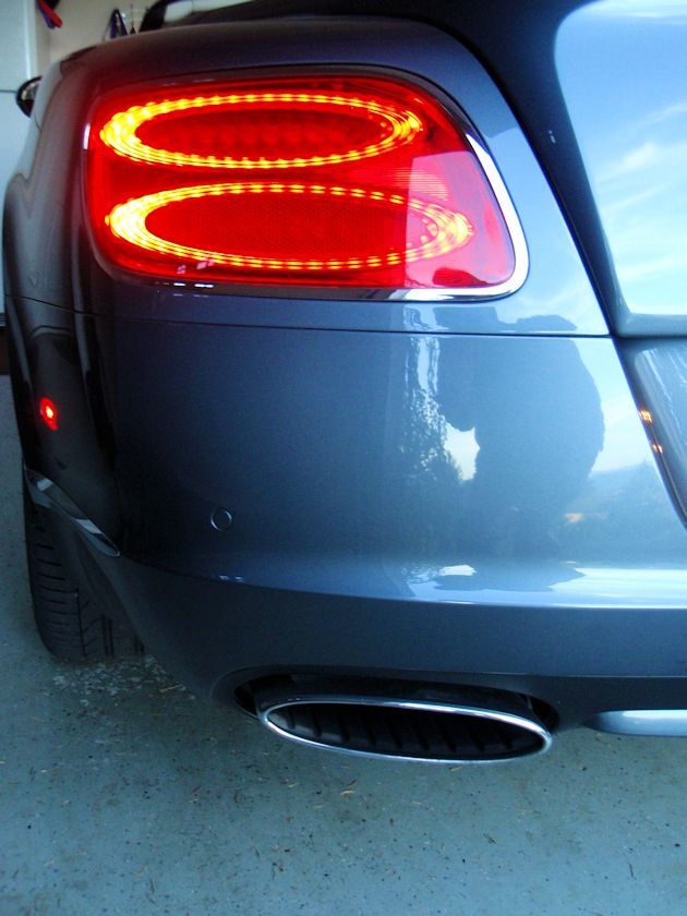 2014 Bentley Continental GTC taillight