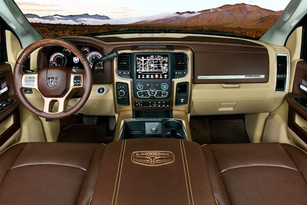 2014 Ram 2500 Longhorn interior