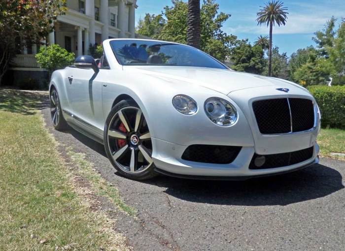 2014 Bentley Continental GT V8 S Convertible Test Drive – Our Auto ...