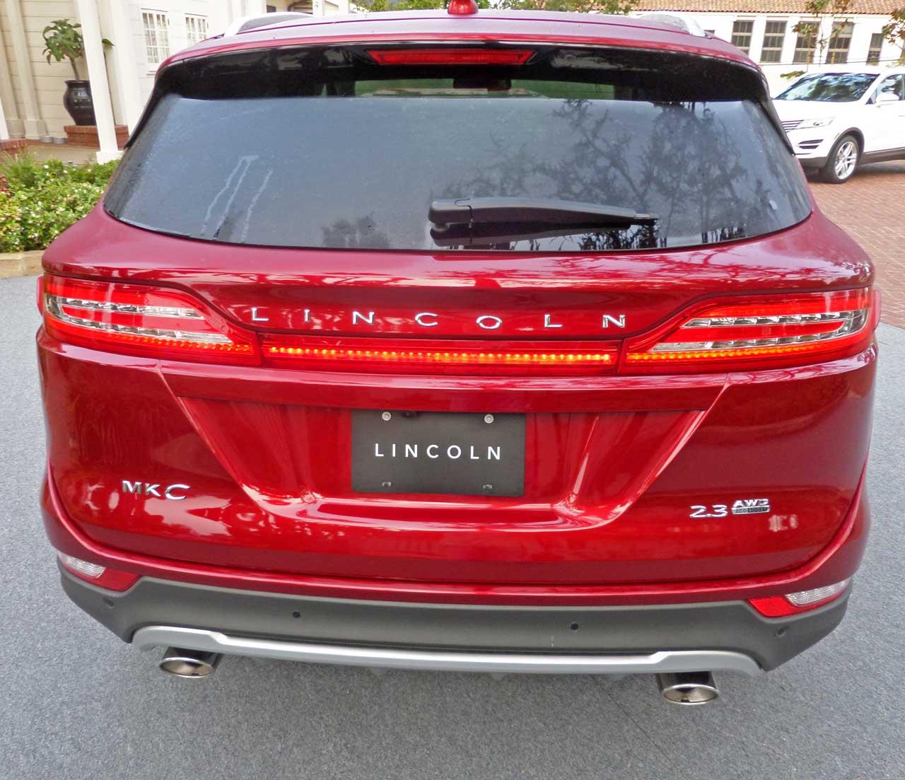 2015 Lincoln Mkz Suspension: 2015 Lincoln MKC Test Drive