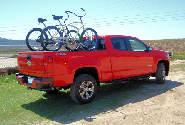 2015 General Motors Colorado bikes