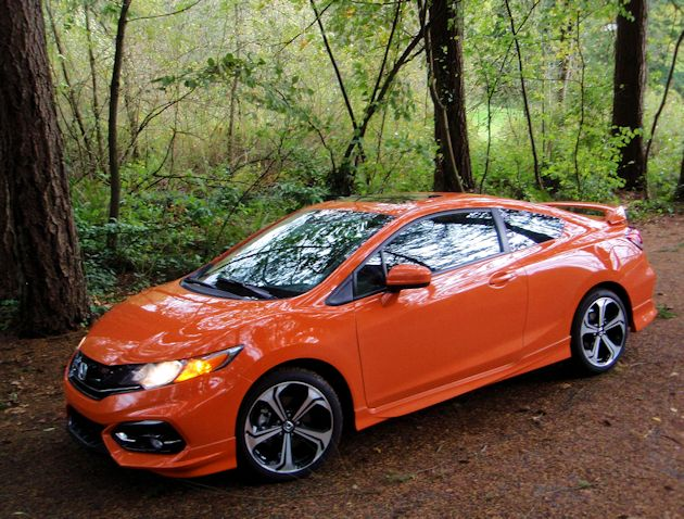 honda civic si coupe test drive our auto expert. Black Bedroom Furniture Sets. Home Design Ideas