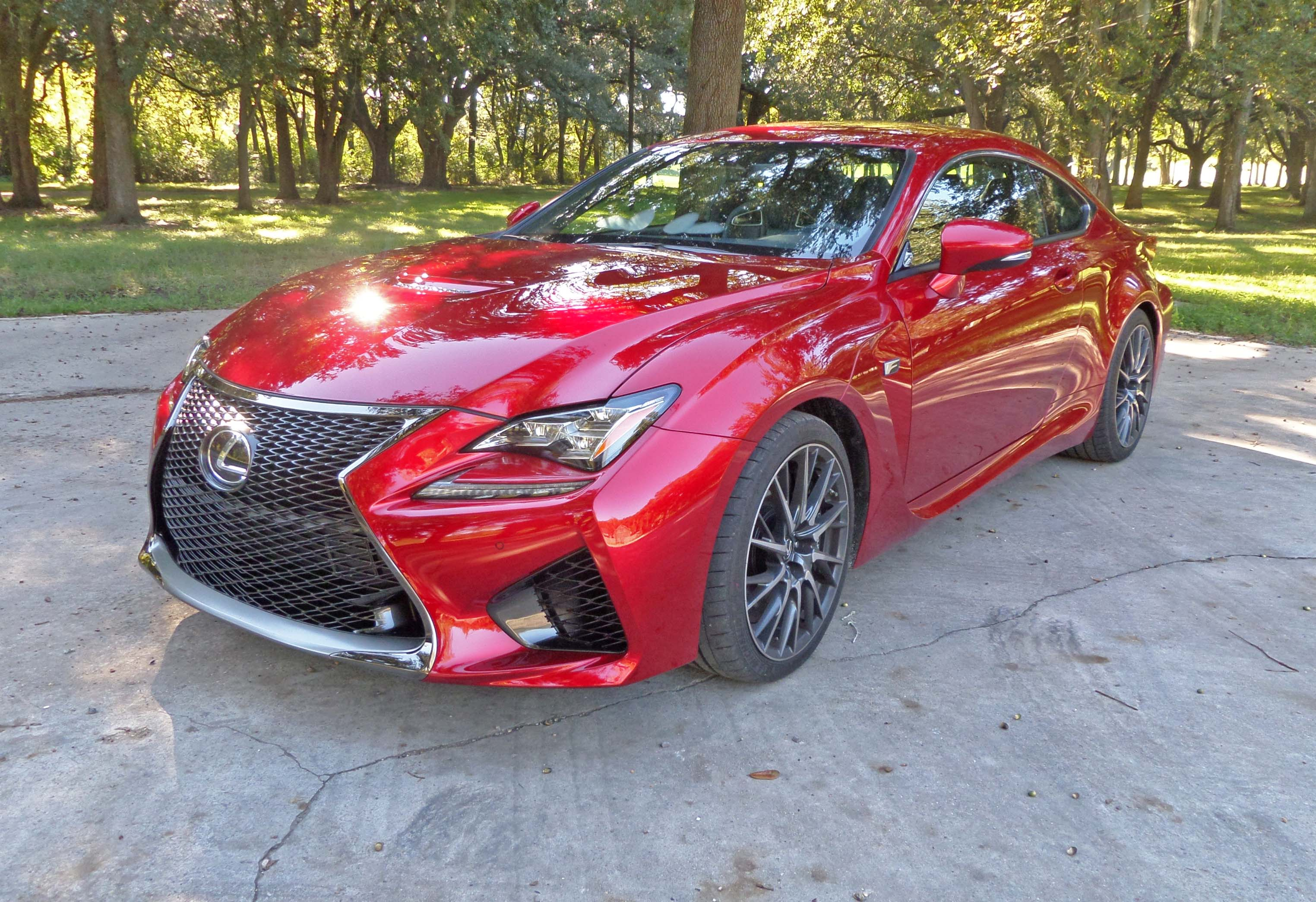 2015 Lexus RC350 F-Sport and Lexus RC F Coupe Test Drives ...