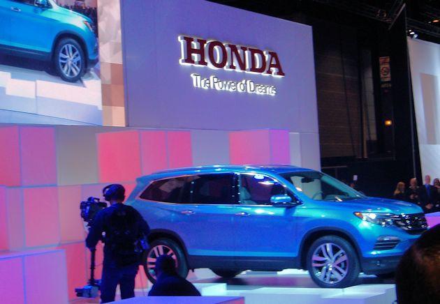 2016 Chicago - Honda Pilot