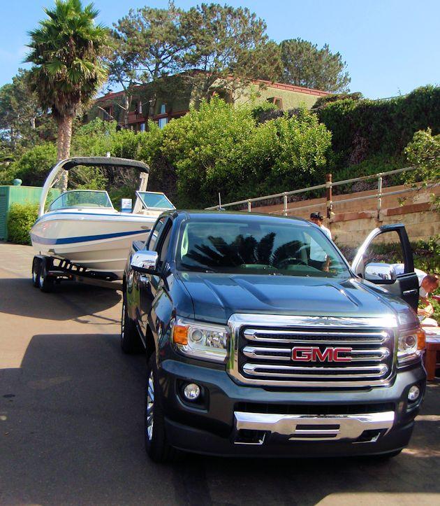 2015 GMC Canyon towing