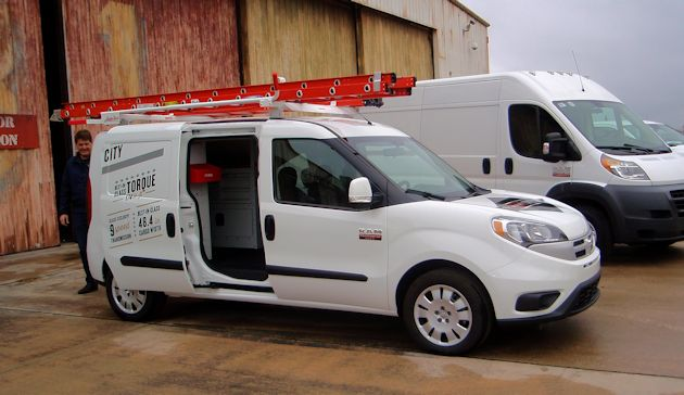 2015 Ram ProMaster City side outfitted