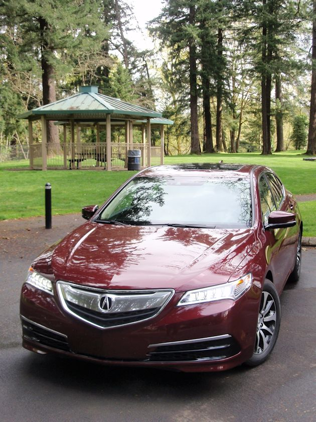 2015 Acura TLX front
