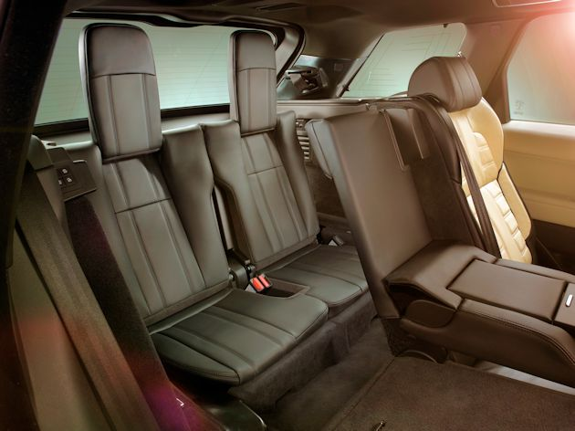 2015  Range Rover Sport 3rd row