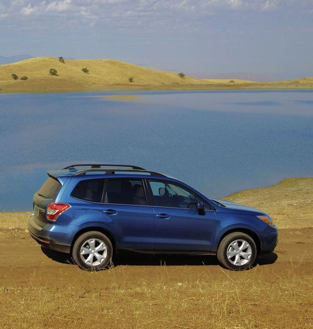 2016 Subaru Forester side