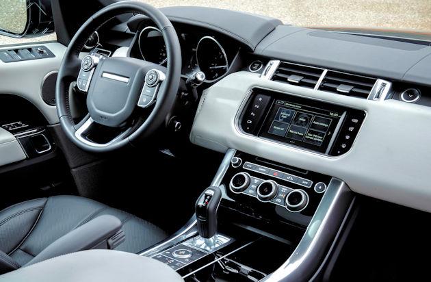 2016 Range Rover Sport - interior