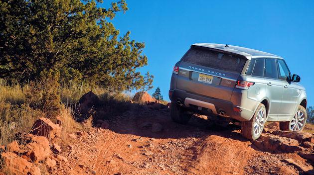 2016 Range Rover Sport - rear