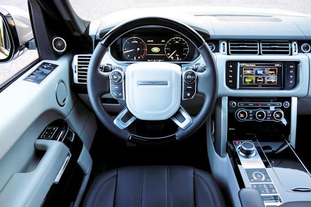 2016 Range Rover - interior