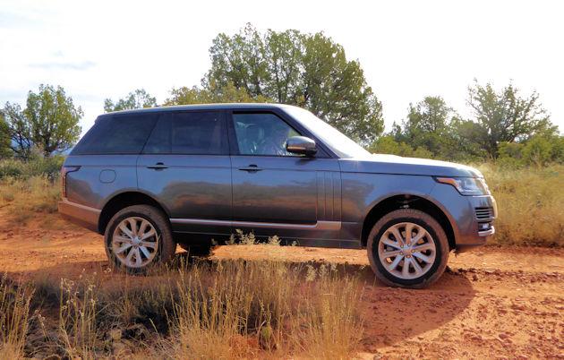 2016 Range Rover - side