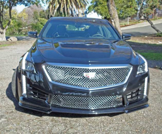 Cadillac-CTS-V-Nose