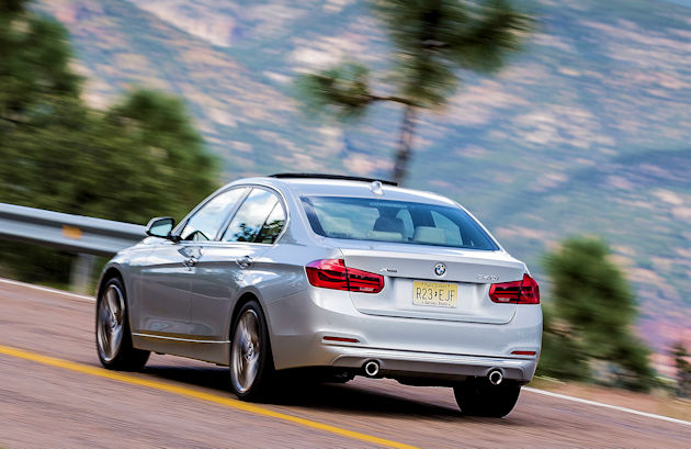 2016 BMW 340i rear