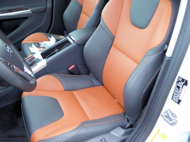 2016 Volvo V60 front seat