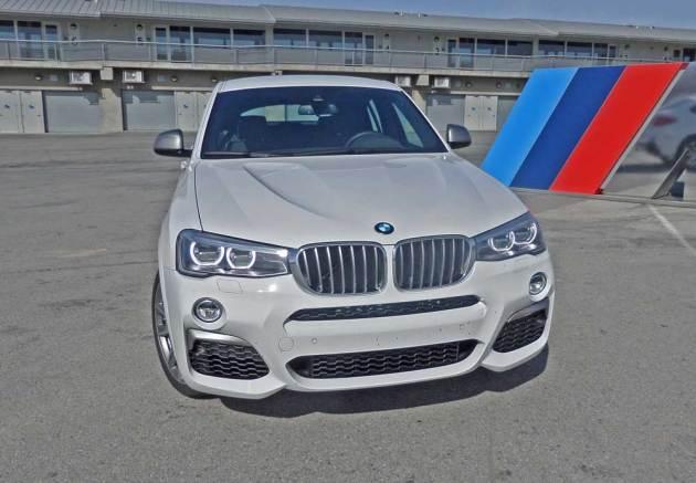 BMW-X4-M40i-Nose