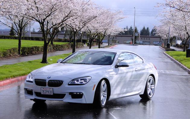 2016 BMW640i front