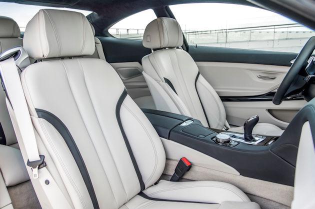 2016 BMW640i interior
