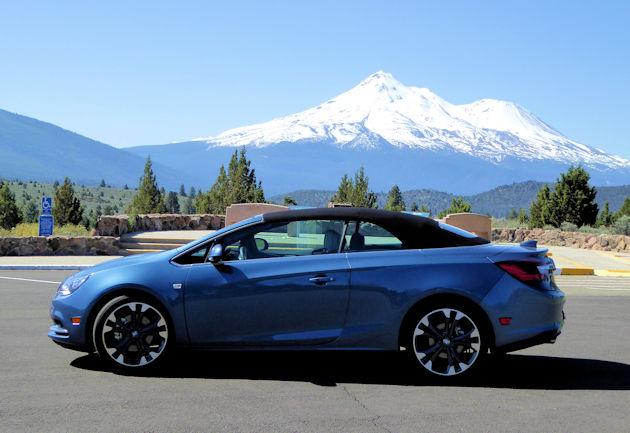 2016 Buick Cascada TU side