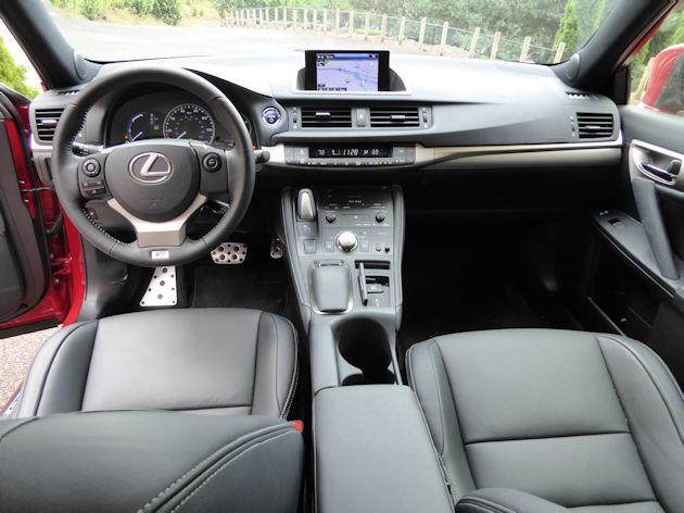 2016 Lexus CT 200h dash