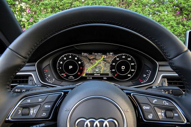 2017 Audi A4 IP