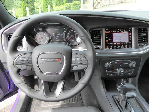 2016 Dodge Charger dash