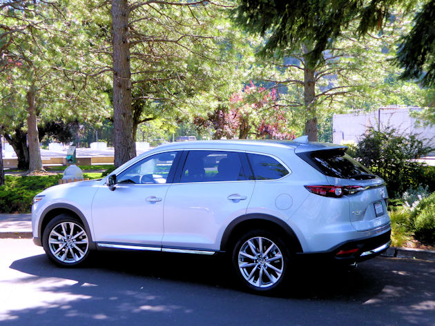 2016 Mazda CX-9 rear q