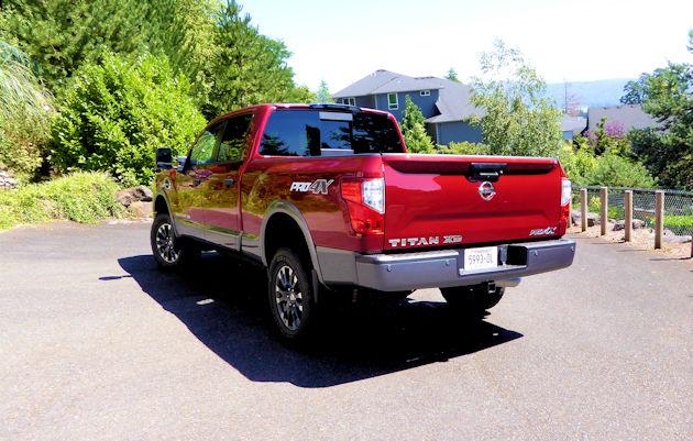 2016 Nissan Titan XD rear