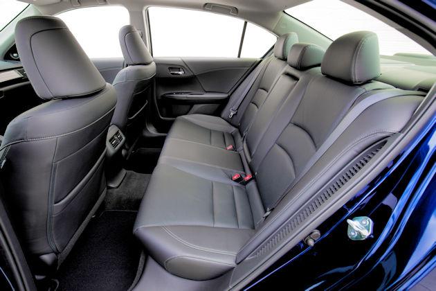 2017 Honda Accord Hybrid rear seat