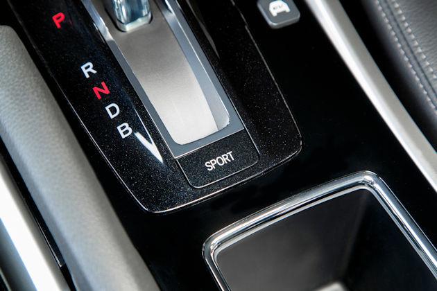 2017 Honda Accord Hybrid shifter