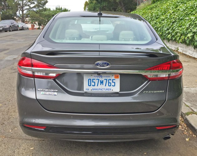 Ford Fusion Energi Tail