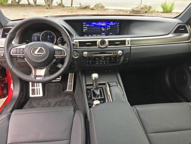 Lexus GS350 F-Sport Dsh