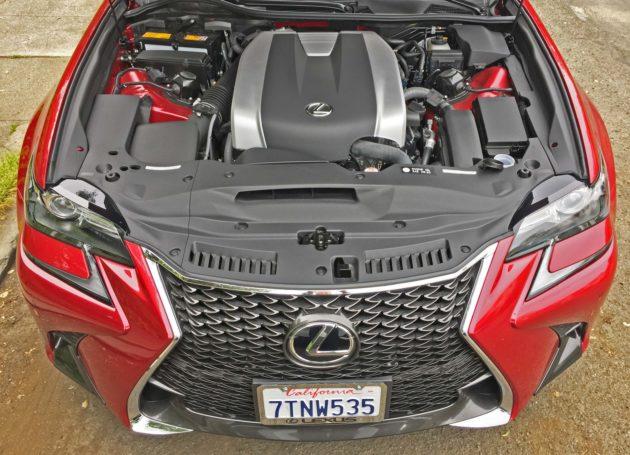 Lexus GS350 F-Sport Eng