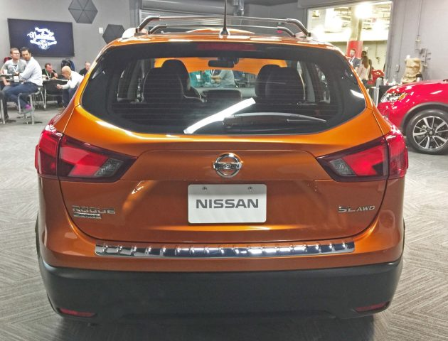 Nissan Rogue Sport Tail