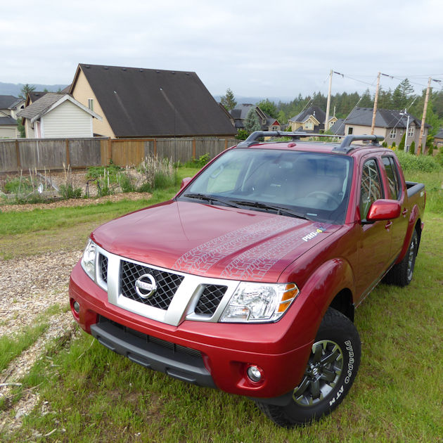 2017 Nissan Frontier Test Drive