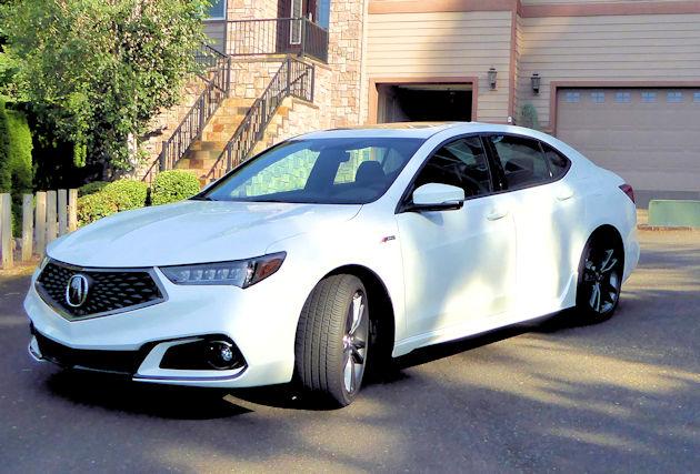 Acura TLX ASpec Test Drive Our Auto Expert - 2018 acura tl headlights