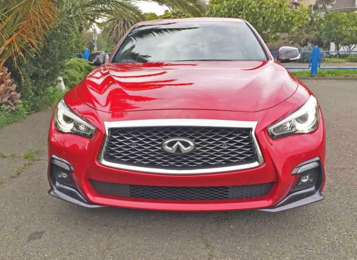 Infiniti-Q50-Red-Sport-400-Nose