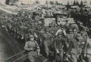 αιχμάλωτοι γερμανοί στρατιώτες από την μάχη του Μίνσκ