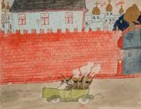 πολιτοφύλακες εισβάλουν στο Κρεμλίνο