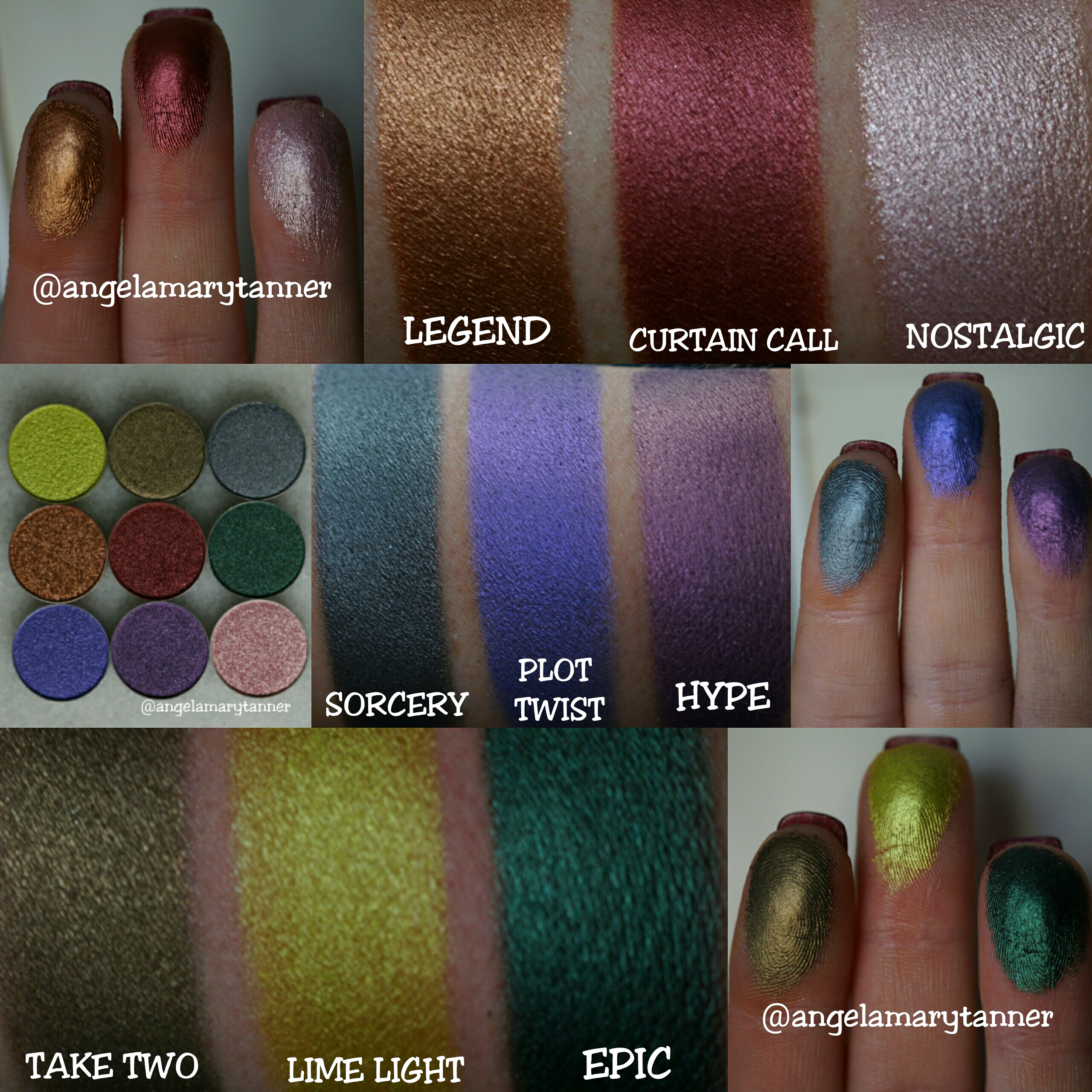 Extrêmement NEW MAKEUP GEEK FOILED EYESHADOWS: SWATCHES AND REVIEW KL92