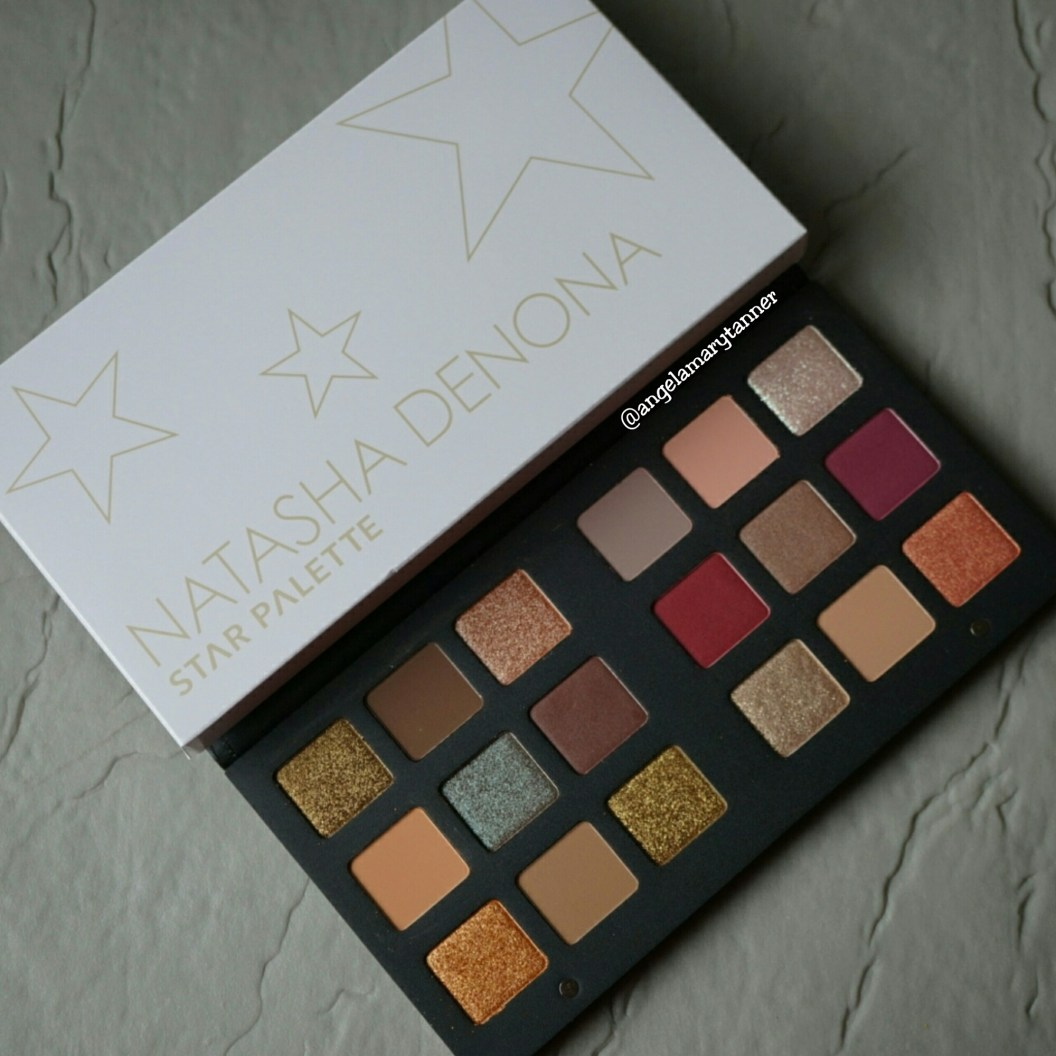 natasha denona star palette review and swatches