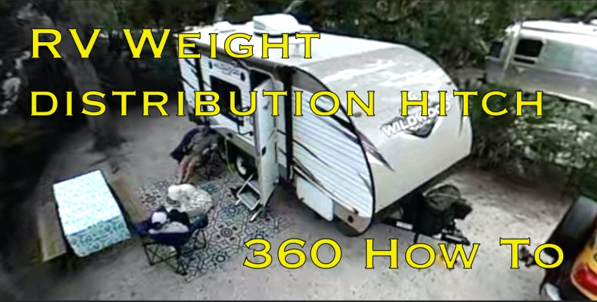 RV Weight Distribution Hitch - 360 How To